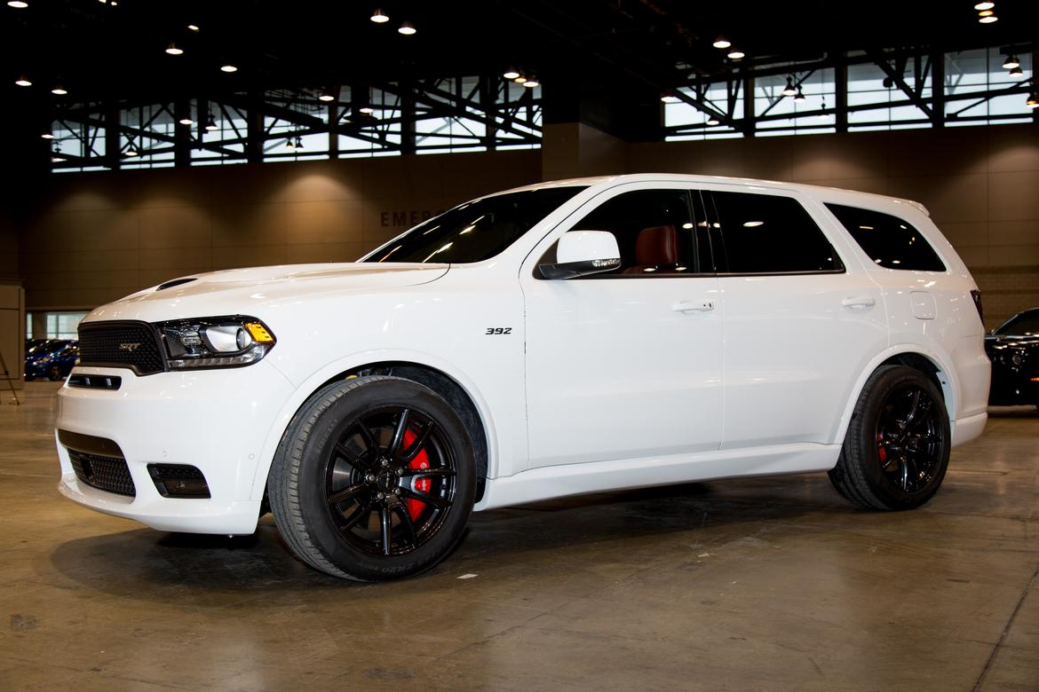 2018 dodge srt durango. delighful durango 2018 dodge durango srt gets price to match its muscle  news carscom intended dodge srt durango