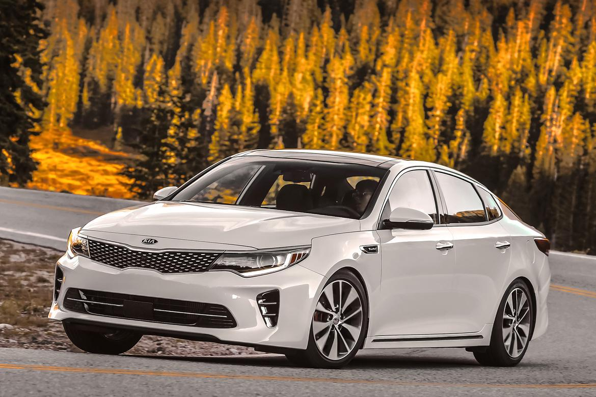 kia upgrades optima headlights for top safety pick plus news. Black Bedroom Furniture Sets. Home Design Ideas