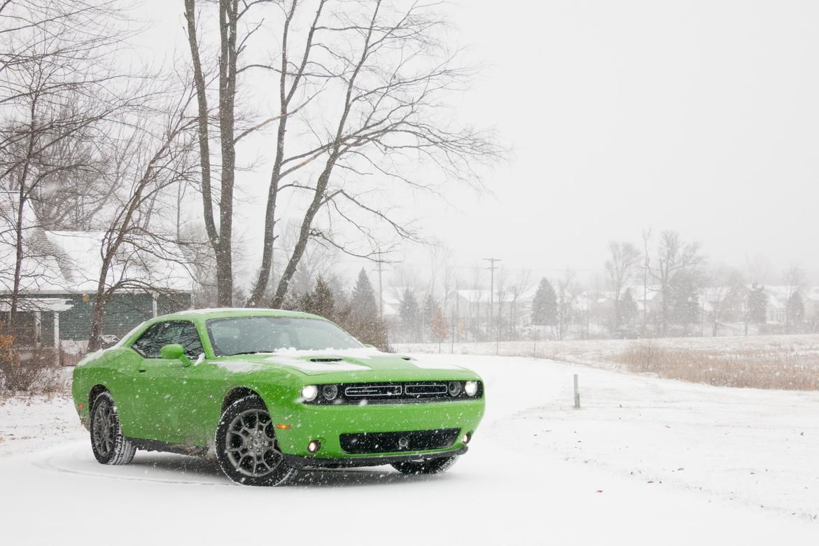 Amazing Snow Is No Challenge For Dodge Challenger GT AWD  News