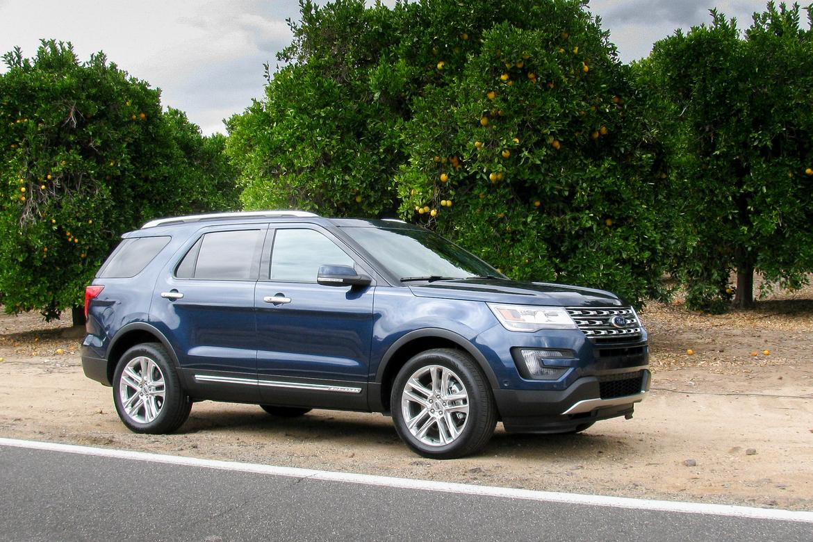 2016 Ford Explorer First Drive