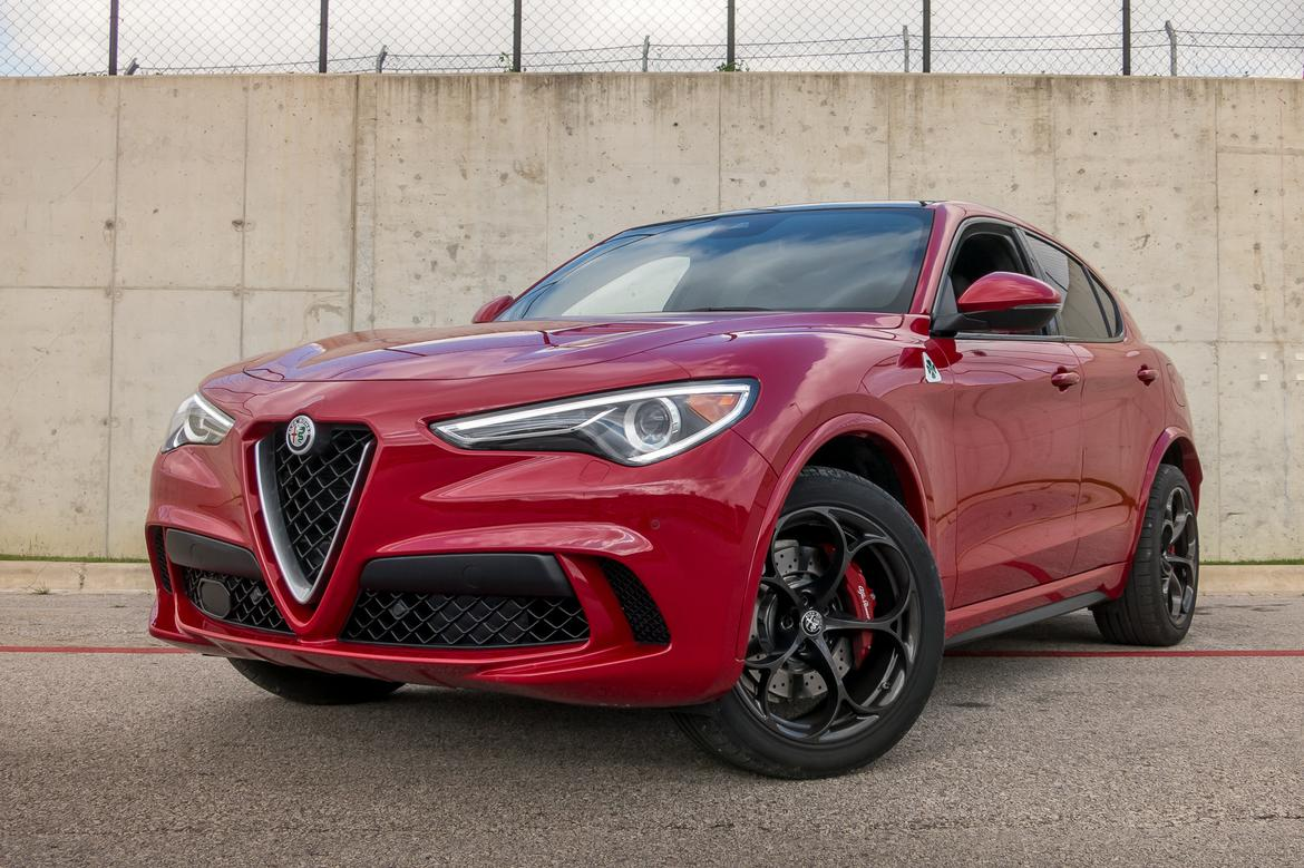 First Drive 2018 Alfa Romeo Stelvio Quadrifoglio Is The Suv For