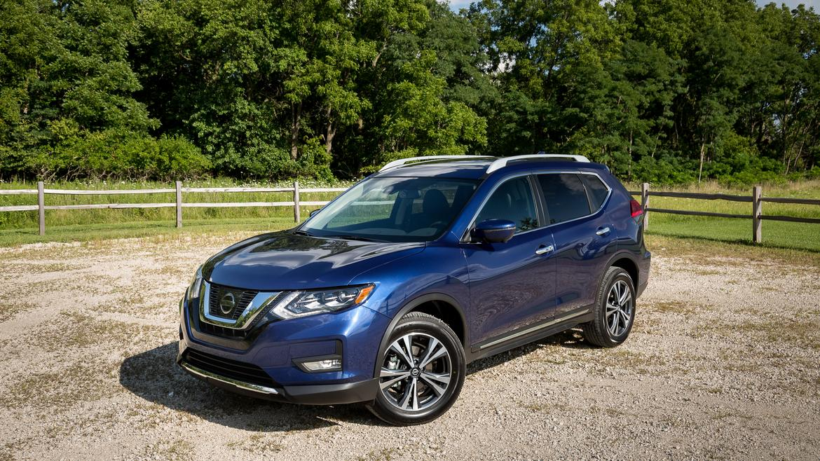 2017 5 nissan rogue real world cargo space news. Black Bedroom Furniture Sets. Home Design Ideas