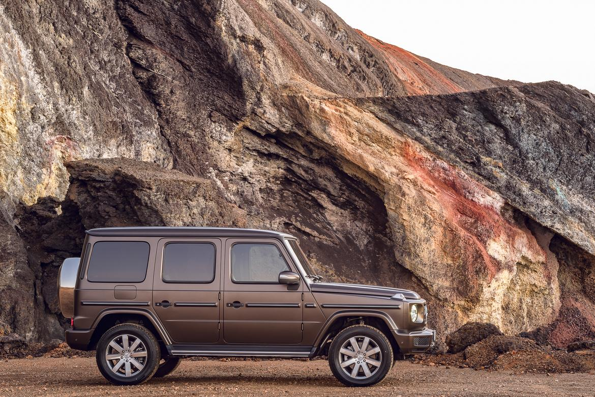 2019 Mercedes Benz G Class The Most Luxurious Box In The World