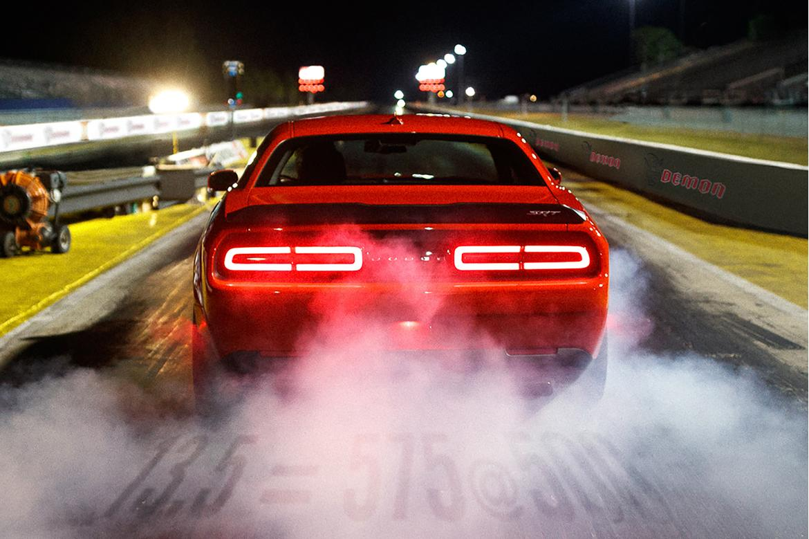 Dodge Challenger Demon Will Have a Suspension Made for the Drag Strip