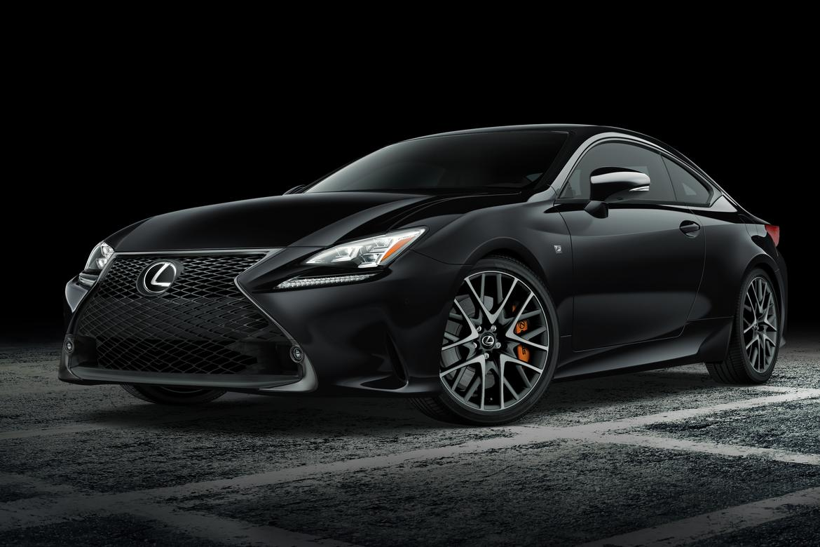 Lexus RC F Sport Black Line Bringing Stealthy Looks To New York