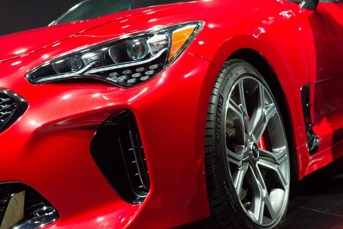 Innovative 2018 Kia Stinger Review First Impressions And Photo
