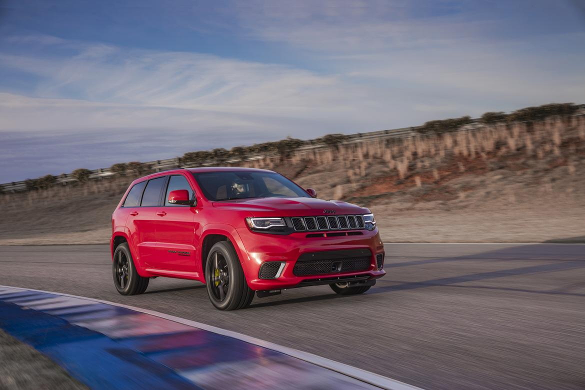 Jeep drops Hellcat engine into Grand Cherokee Trackhawk