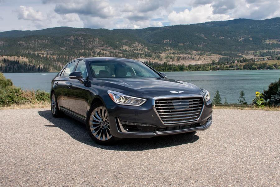 2017 genesis g90 our review. Black Bedroom Furniture Sets. Home Design Ideas