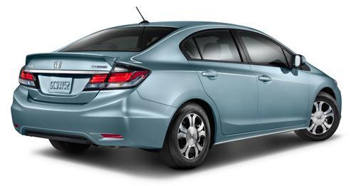 Honda Hybrid Cars >> Honda Boosts Civic Hybrid Mpg For 2014 News Cars Com