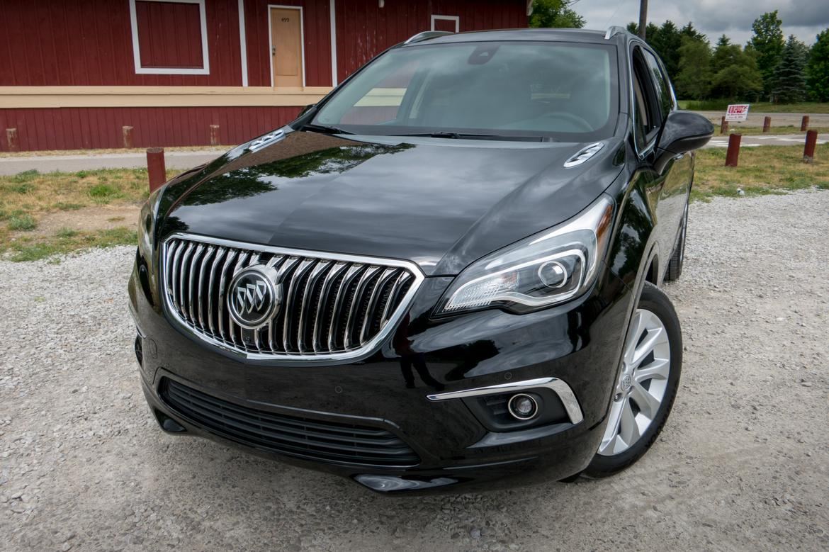 2016 buick envision first drive news. Black Bedroom Furniture Sets. Home Design Ideas