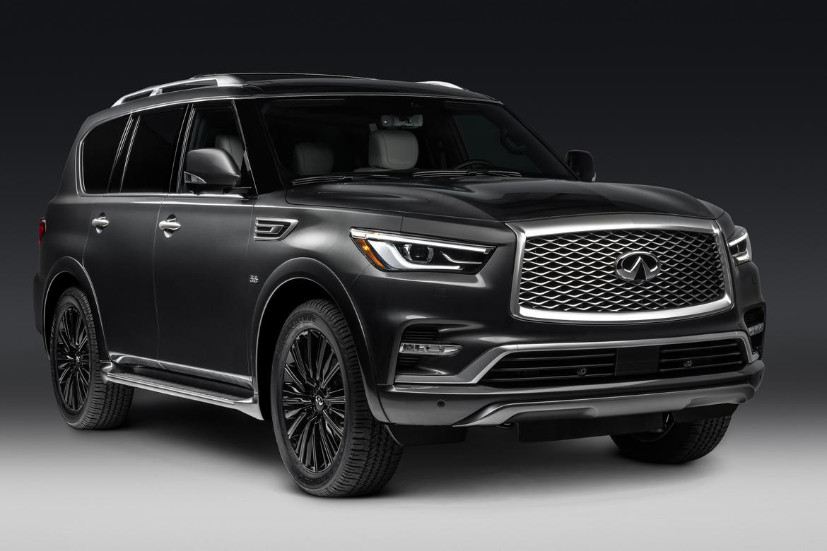 infiniti to show dressed up 2019 qx60 qx80 limited models in nyc news. Black Bedroom Furniture Sets. Home Design Ideas