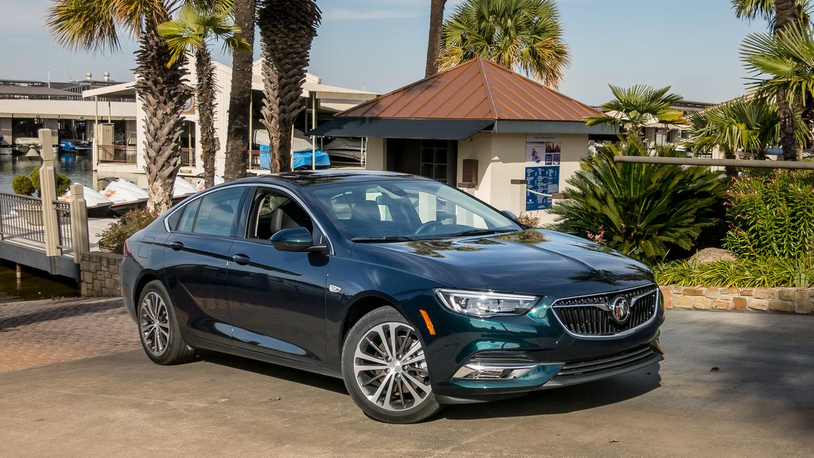 2018 Buick Regal Sportback First Drive Aiming For The Bleachers