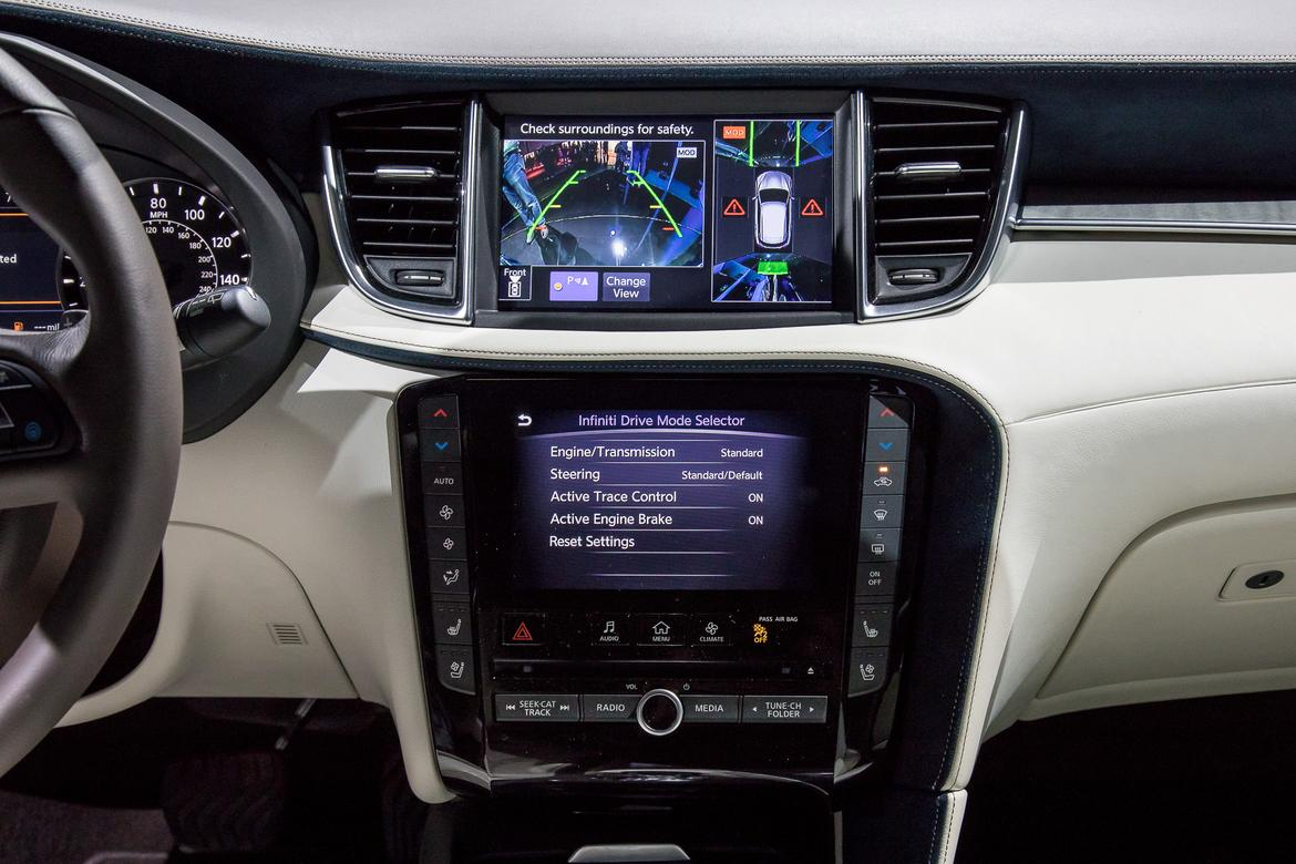 19-<a href=infiniti.php > <a href=infiniti.php > Infiniti </a> </a>-qx50-2019-17LAAS--autoshow--cameras--center-stack--d