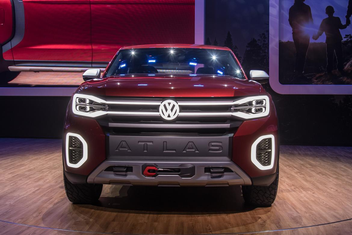 video: volkswagen atlas tanoak concept first look | news | cars