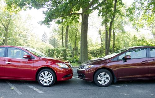 2013 Honda Civic Versus 2013 Nissan Sentra. By Joe Wiesenfelder. July 17,  2013. Share. MMS ID 57591 (created By CM Utility)
