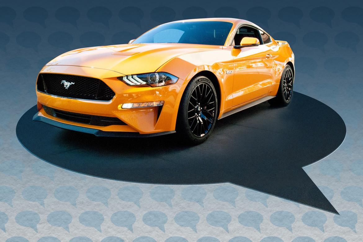 Social Media Ponies Up Posts for 2018 Ford Mustang | News | Cars.com