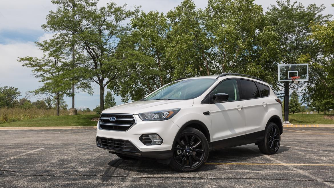 Nissan Rogue Dimensions >> 2017 Ford Escape: Real-World Cargo Space   News   Cars.com