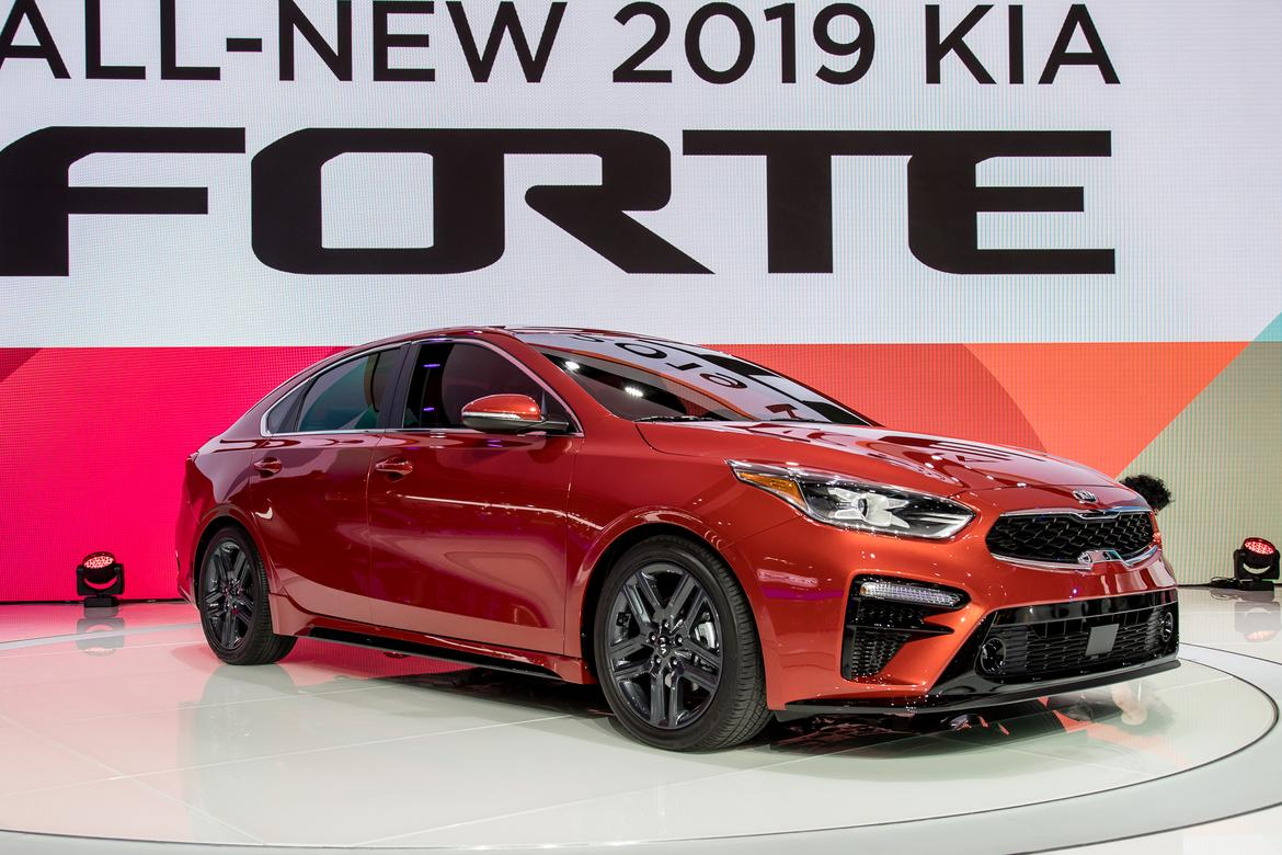 Kia Forte First Look - 2018 Detroit Auto Show