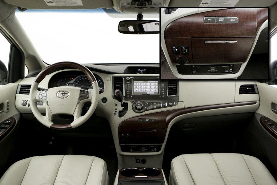 2013 toyota sienna our review. Black Bedroom Furniture Sets. Home Design Ideas