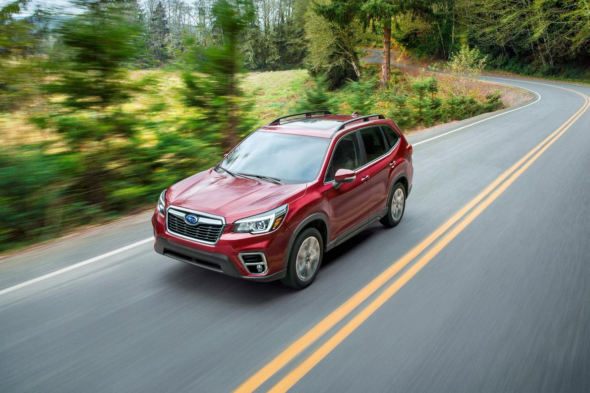 Subaru Gives 2019 Forester More Style And Standard Safety News