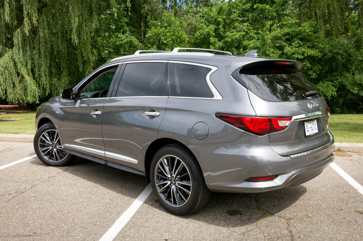 2017 infiniti qx60 our review. Black Bedroom Furniture Sets. Home Design Ideas