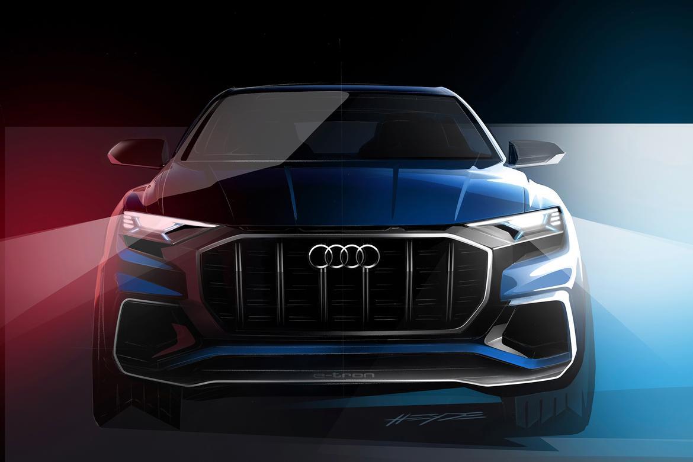 Audi Teases Q SUV Concept Ahead Of Detroit News Carscom - Audi detroit