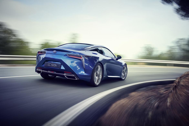 2018 Lexus Lc 500h First Look News Cars Com