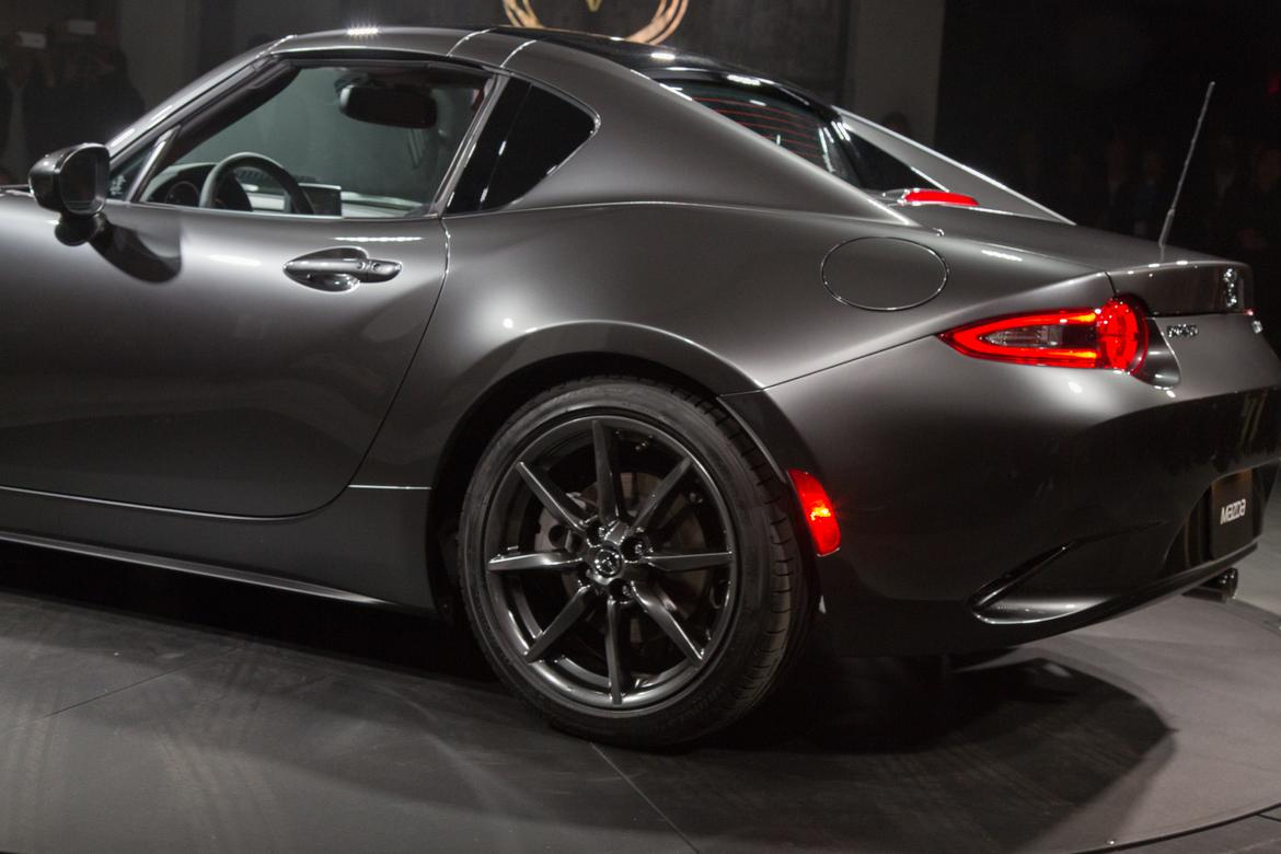 2017 Mazda Mx 5 Miata Rf Retractable Hardtop Photo Gallery