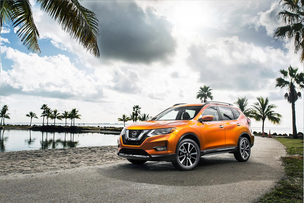 Nissan Rogue Hits Miami Auto Show With Hybrid Power