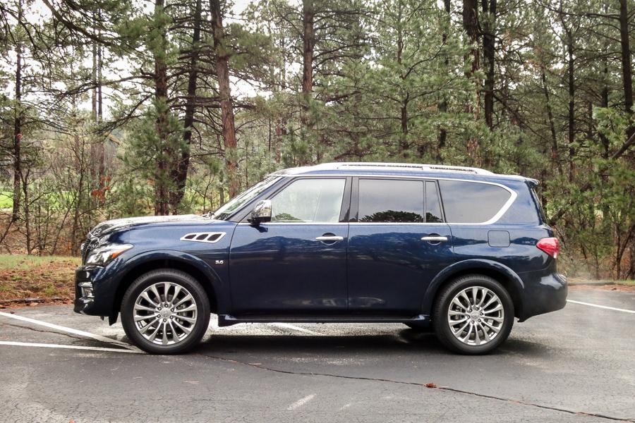 2015 infiniti qx80 our review. Black Bedroom Furniture Sets. Home Design Ideas
