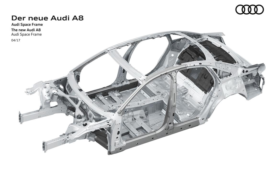 Audi To Launch Next A8 With Standard 48 Volt Mild Hybrid Tech
