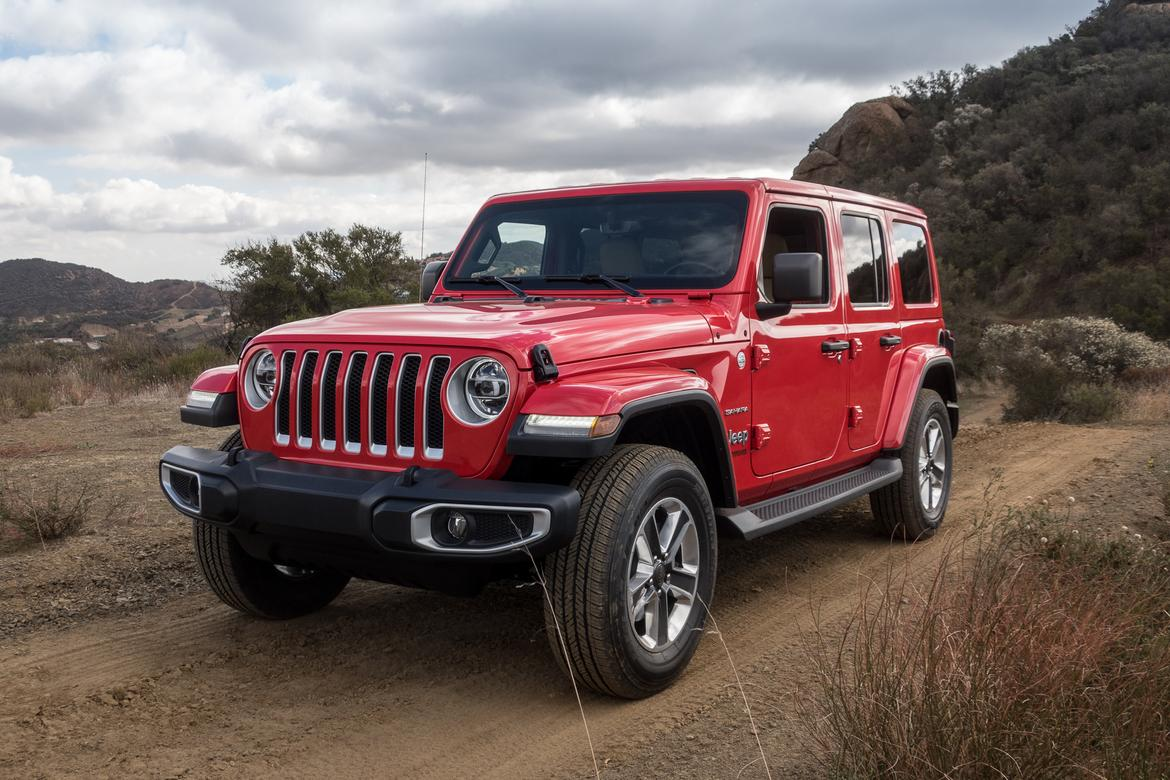 2018 Jeep Wrangler 5 Things For Non Enthusiasts To Enthuse Over Powertrain 02 Angle Exterior Front Red