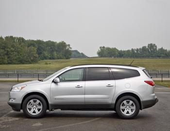 2010 Chevrolet Traverse Our Review Cars Com