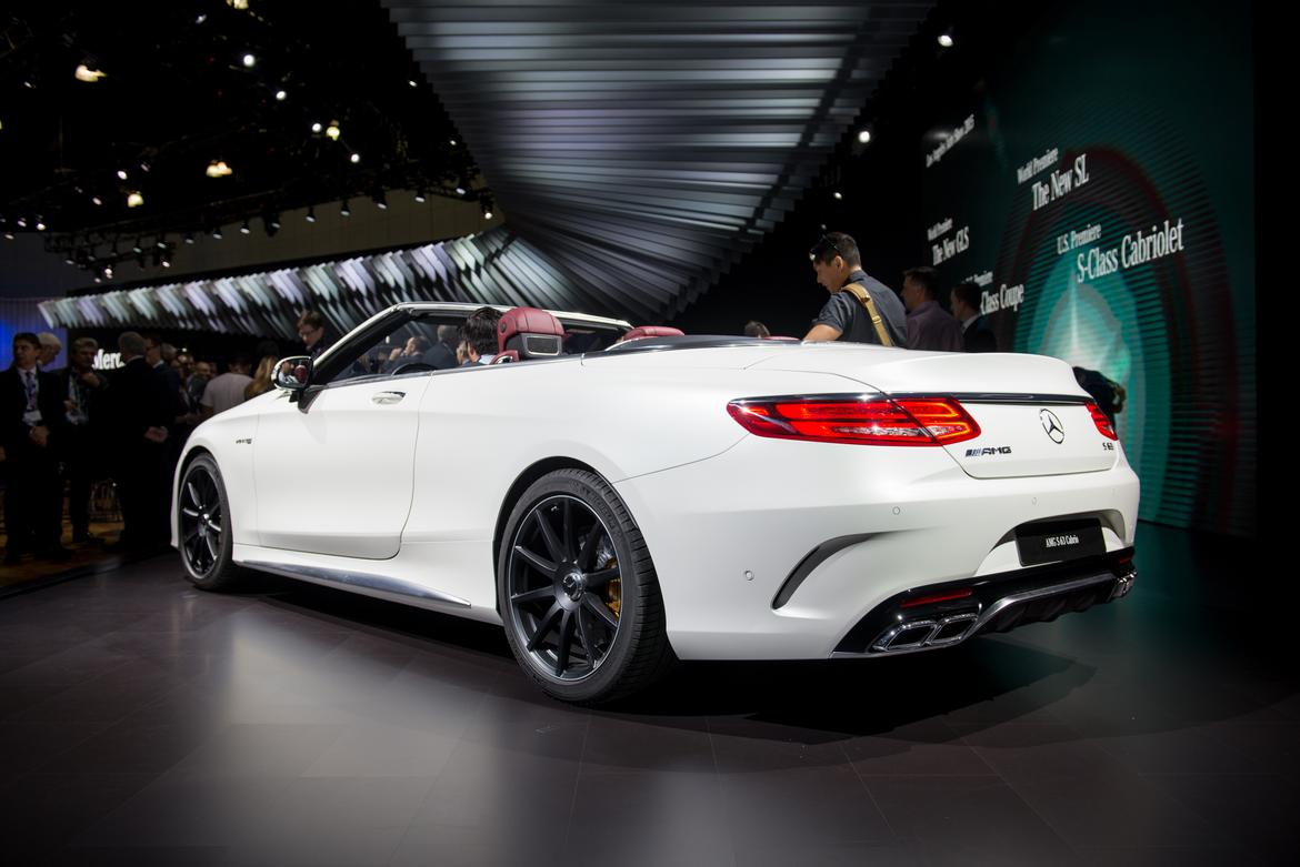 2017 mercedes amg s63 cabriolet first impressions news. Black Bedroom Furniture Sets. Home Design Ideas