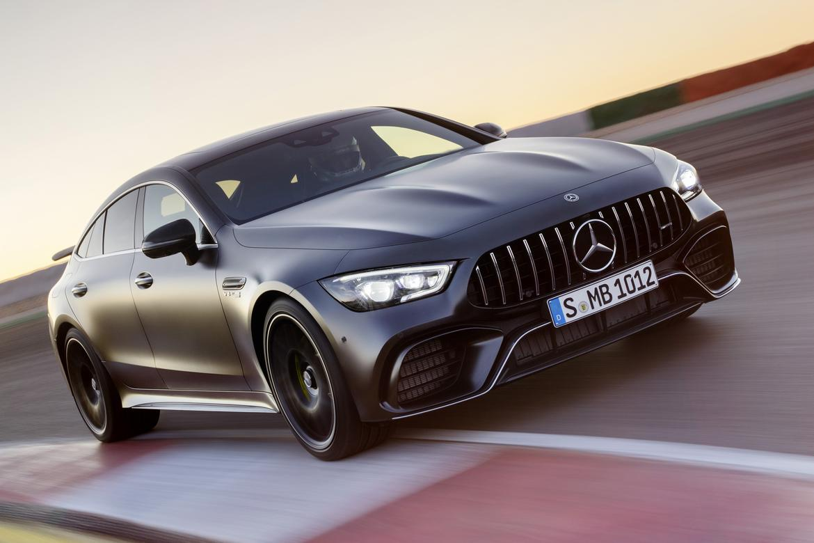 2019 Mercedes Amg Gt Brings Stunning Concept Design To The Street