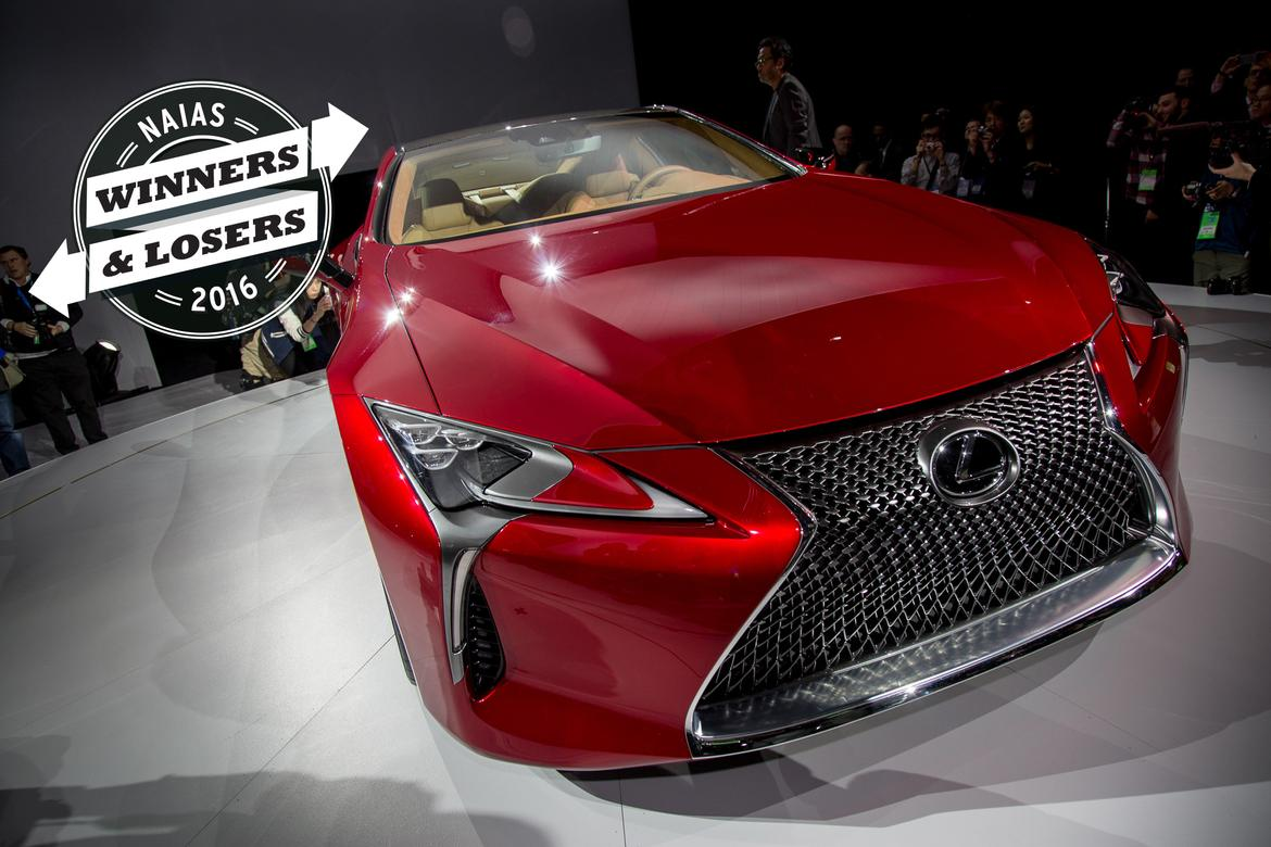 2016 Detroit Auto Show Winners And Losers