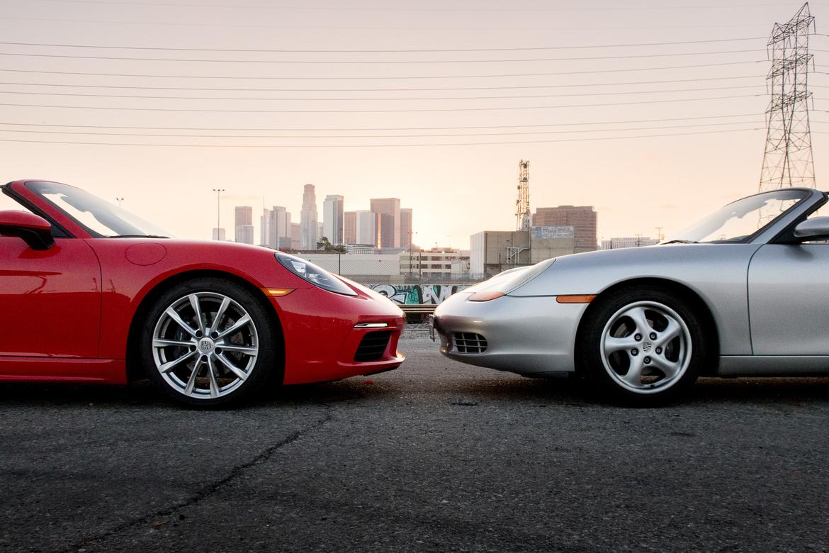 porsche boxster, 1997-2017: the difference 2 decades makes   news