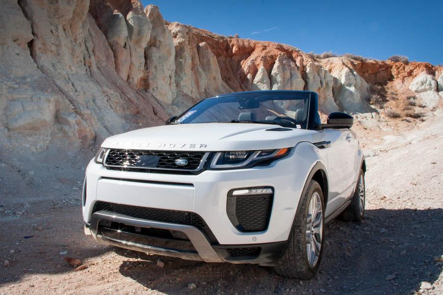 2017 land rover range rover evoque convertible review quick spin news. Black Bedroom Furniture Sets. Home Design Ideas