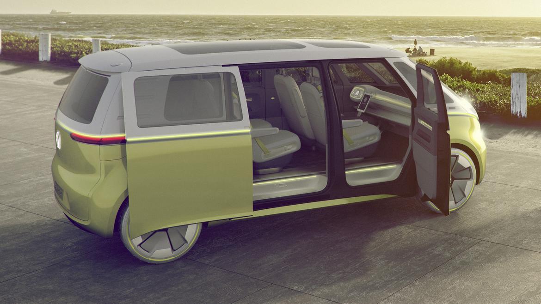 VW Microbus to Return in 2022 as EV | News | Cars.com