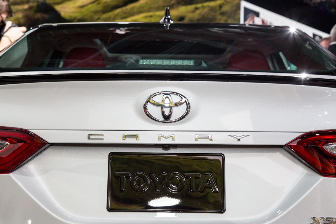 2018 toyota camry first impressions and photo gallery