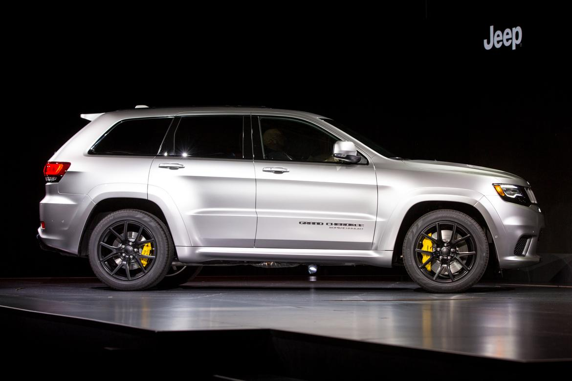 Lastest 2018 Jeep Grand Cherokee Trackhawk First Impressions And