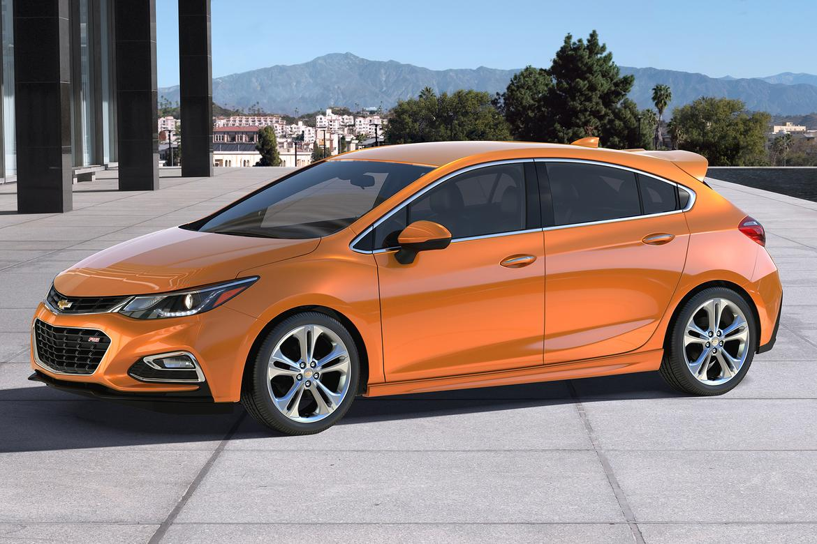 2017 Chevrolet Cruze Hatchback: First Look | News | Cars.com
