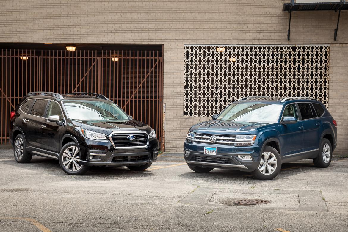 Subaru Ascent 2018 >> Subaru Ascent Vs Volkswagen Atlas The Family Suv Feud Begins
