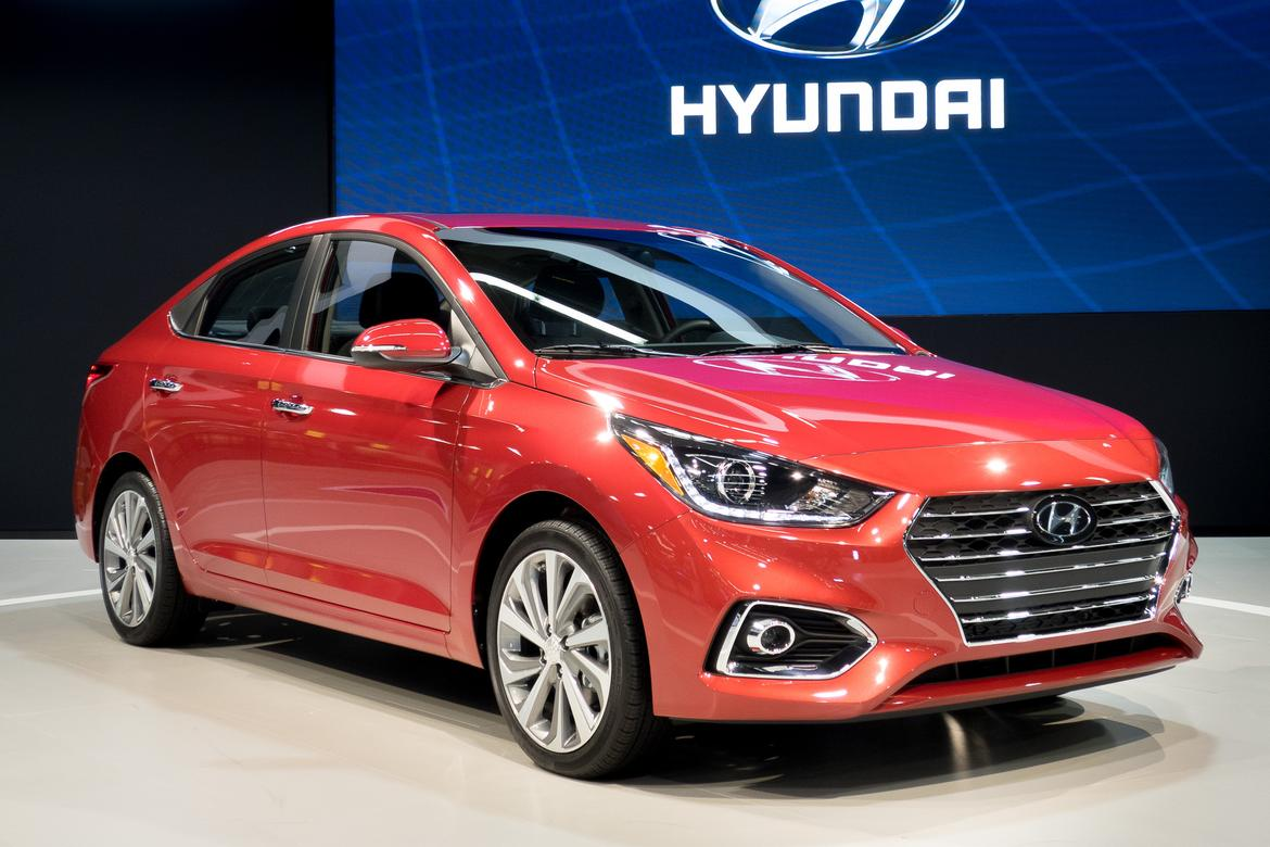 hyundai-accent-2018-01-2018-Accent-angle-exterior-front-Hyundai-