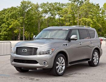 2012 infiniti qx56 our review. Black Bedroom Furniture Sets. Home Design Ideas