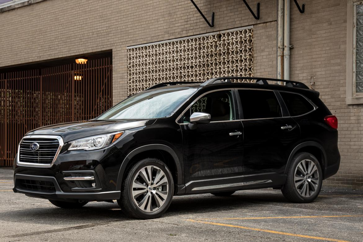 02-<a href=https://autousedengines.com/used-subaru-engines>subaru</a>-ascent-2019-angle--black--exterior--front.jpg
