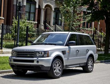 2008 land rover range rover sport our review. Black Bedroom Furniture Sets. Home Design Ideas