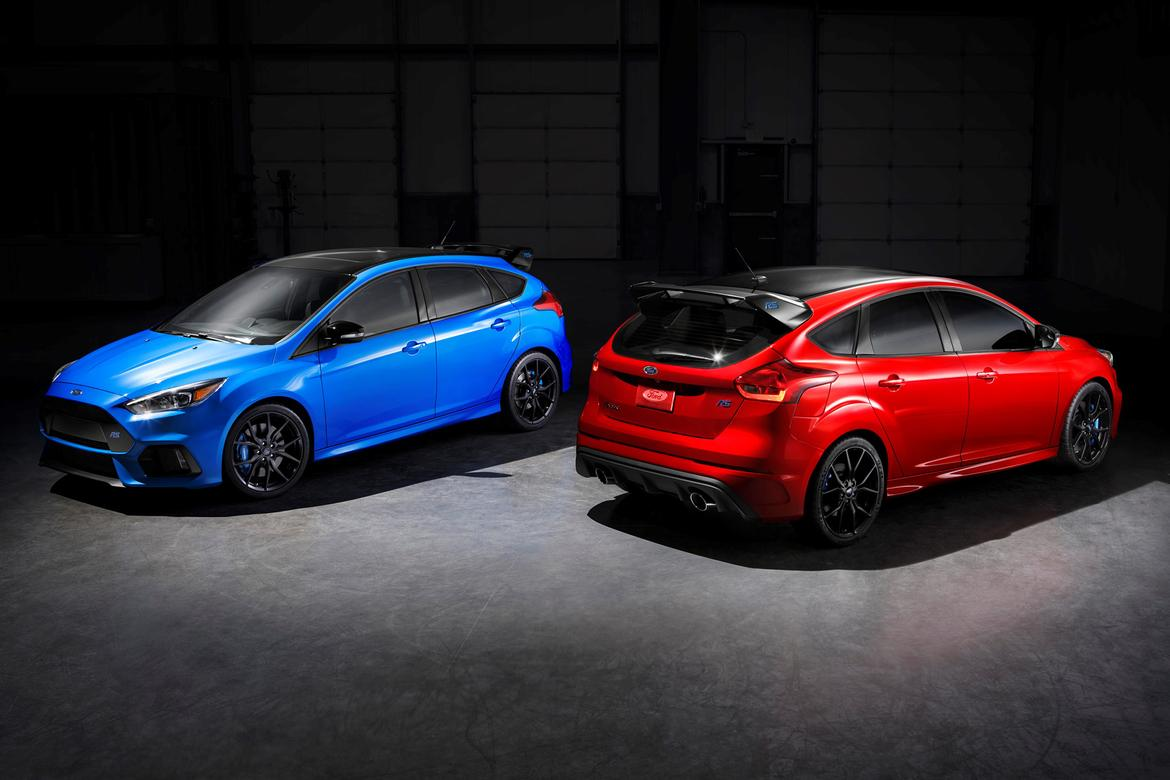 Ford Focus RS gets new Option Pack including Limited-Slip Diff