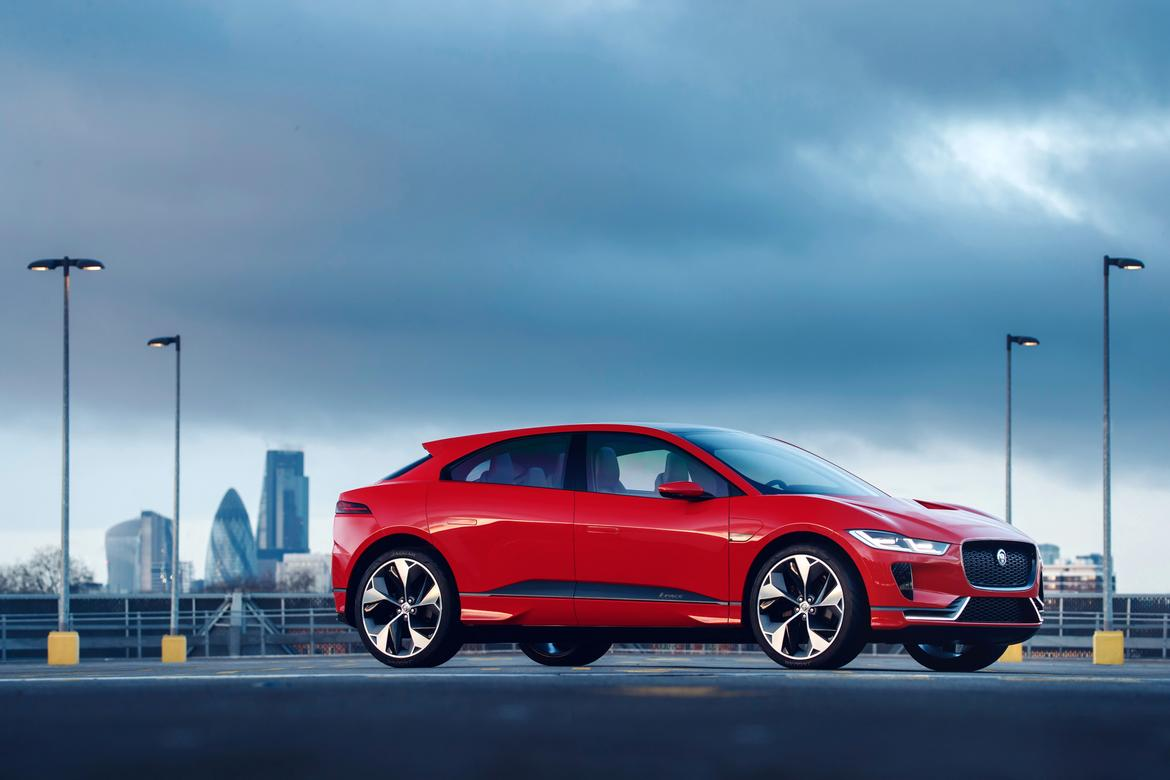Jaguar's electric SUV is cheaper than a Tesla Model X or S