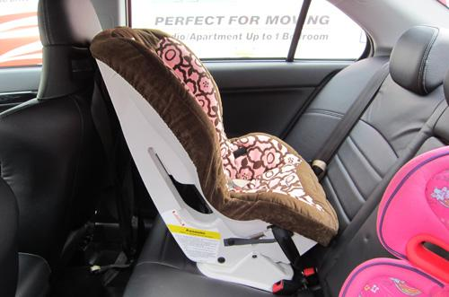 Car Seat Uncomfortable Under Back Of Knees
